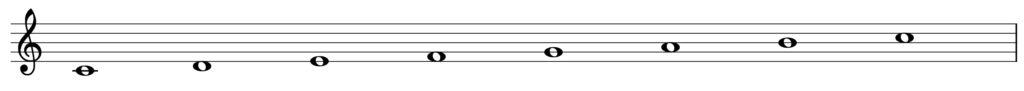 楽典 遠隔調 C dur
