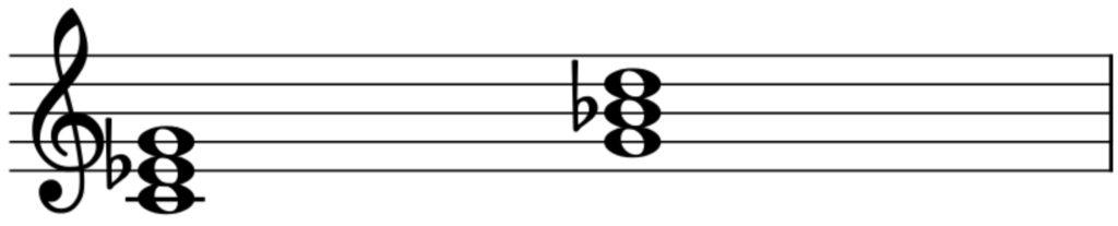 楽典 入門 和音 三和音 短三和音 マイナーコード