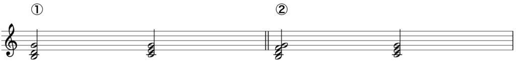 楽典 入門 和音 四和音 7の和音 C dur 属7の和音
