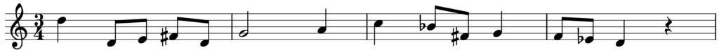 楽典 入門 調判定 旋律短音階 g moll