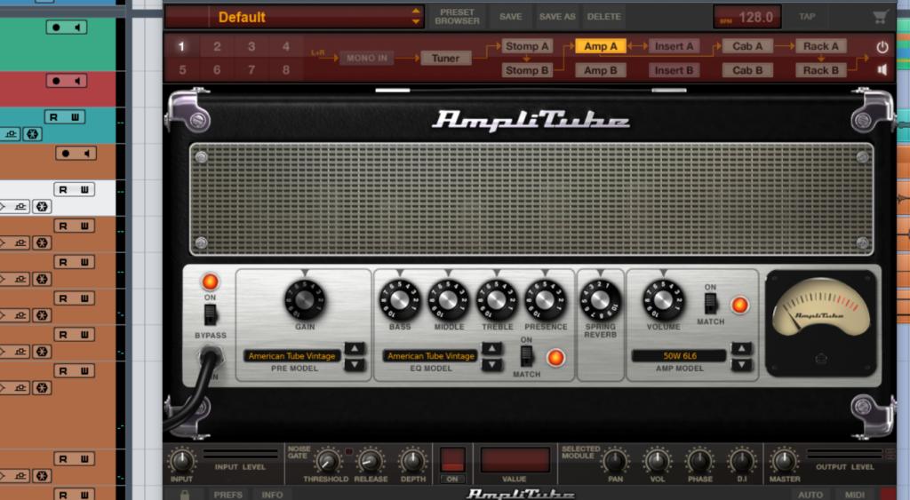 DTM DAW ミックス マスタリング IK Multimedia AmpliTube 4 Max ギター サウンドメイク アンプ キャビネット ストンプ