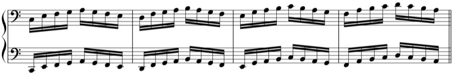 ハノン 対位法 音楽理論