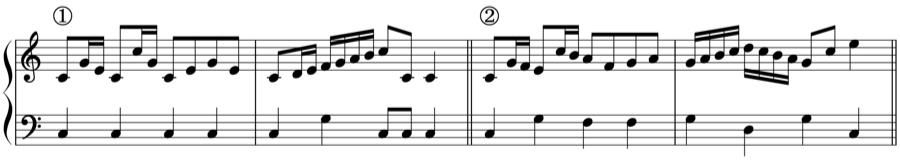 旋律 対位法 音楽理論
