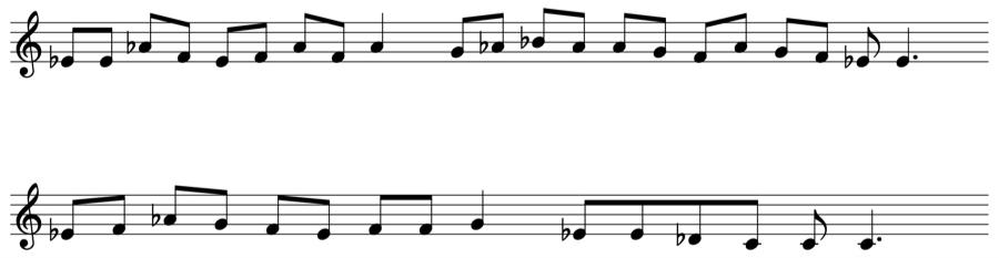 グレゴリオ聖歌 フリギア旋法 移高 移旋 教会旋法 対位法 音楽理論