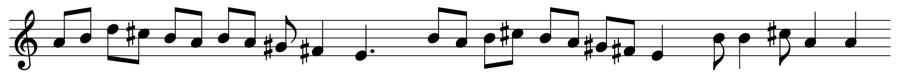 A イオニア旋法 対位法 音楽理論