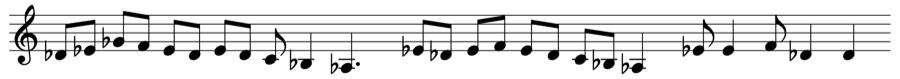 Des イオニア旋法 対位法 音楽理論