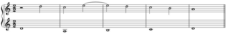 シンコペーション タイ 1:2 強拍 弱拍 拍子 リズム 対位法 音楽理論