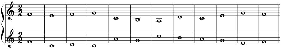 対位法 音楽理論