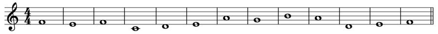 1:1 1:2 対旋律 定旋律 対位法 音楽理論
