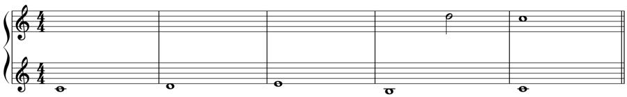 シンコペーション 強拍 弱拍 不協和音程 協和音程 順次進行 解決 対位法 音楽理論