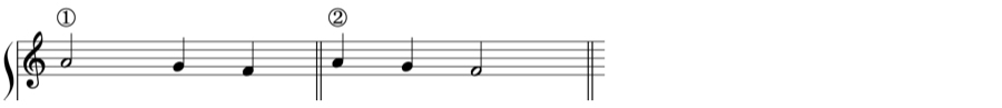自由対位法 華麗対位法 1:1 1:2 1:4 定旋律 対位法 音楽理論