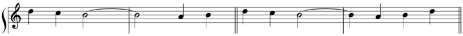 シンコペーション 自由対位法 華麗対位法 1:1 1:2 1:4 定旋律 対位法 音楽理論