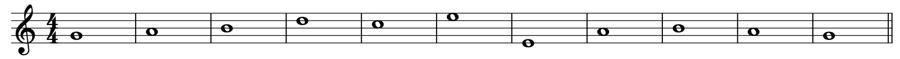 自由対位法 対位法 音楽理論