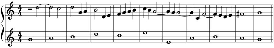 和声分析 対位法 音楽理論
