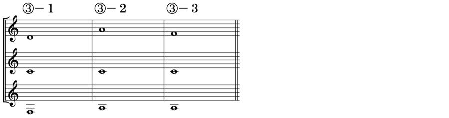 ソプラノ アルト テノール 対位法 音楽理論