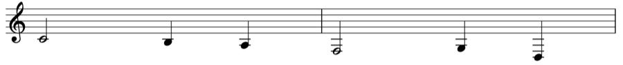 楽譜 五線譜 ト音記号 和声法 対位法 音楽理論