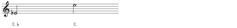 変化記号 和声法 対位法 音楽理論