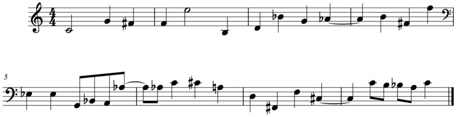 変化記号 音の名前 和声法 対位法 音楽理論