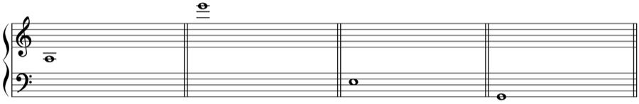 ソプラノ 音域 和声法 音楽理論