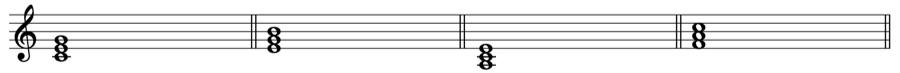 三和音 和音 和声法 音楽理論