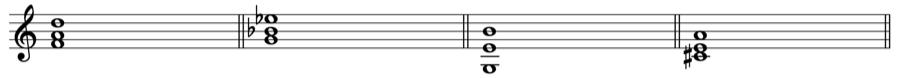 三和音 転回形 第一転回形 和声法 音楽理論