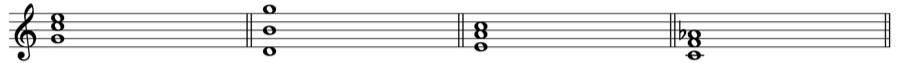 三和音 転回形 第二転回形 和声法 音楽理論
