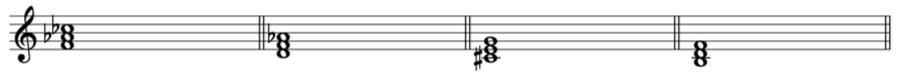 減三和音 三和音 和声法 音楽理論