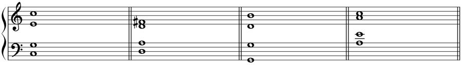 根音 声部 和声法 音楽理論