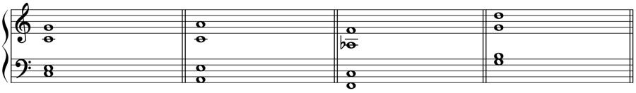 テノール バス 倍音 倍音列 基音 和声法 音楽理論