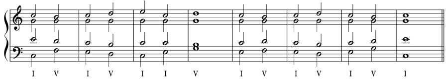 トニカ ドミナンテ 三和音 和声法 音楽理論