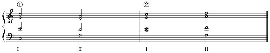 バス 和音 和声法 音楽理論