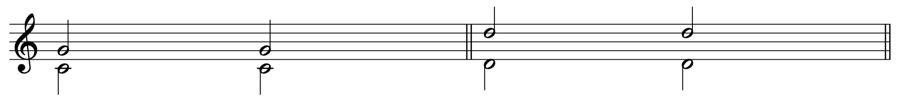 完全5度 完全8度 和声法 音楽理論