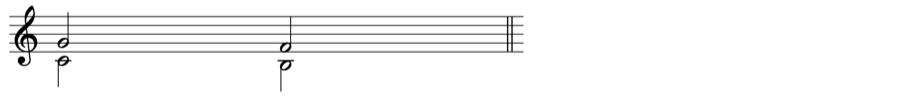 減5度 和声法 音楽理論