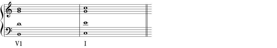 連続8度 第一転回形 和声法 音楽理論