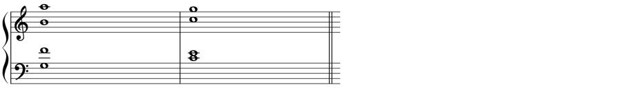 四声体 声部 九の和音 V9 短9度 和声法 音楽理論
