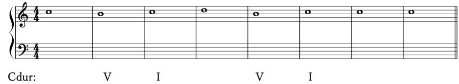 ソプラノ課題 和音 和声法 音楽理論